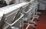 Plate sorter for commercial printing